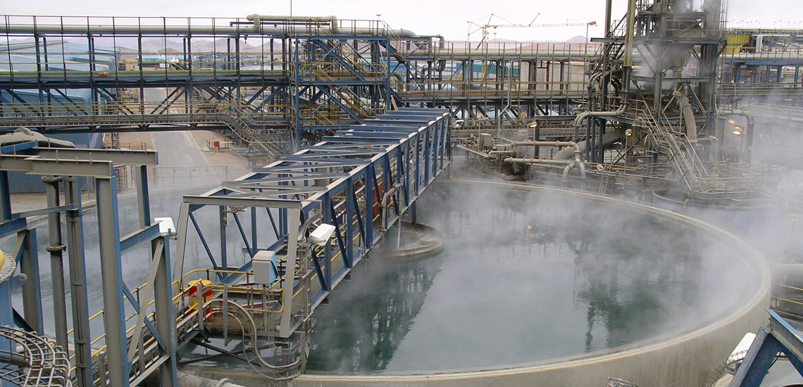 conventional thickener at high temperature in Namibia
