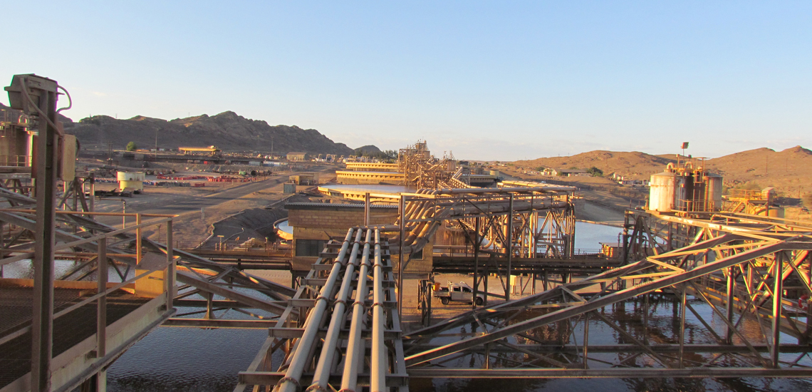 Copper tailings high rate thickeners in Chile